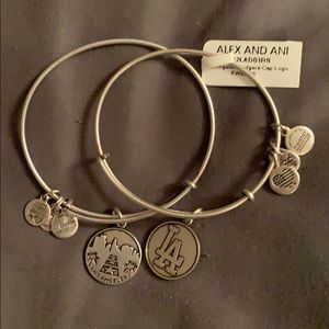 Two Alex & Ani LA themes bracelets